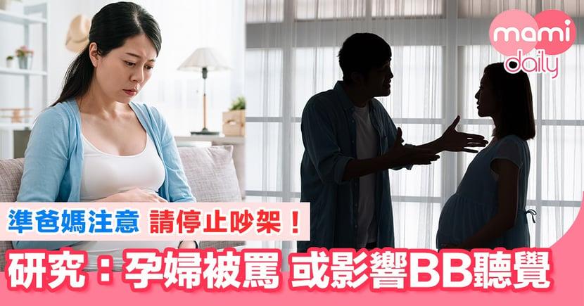 懷孕期間大聲吵架 對BB有負面影響