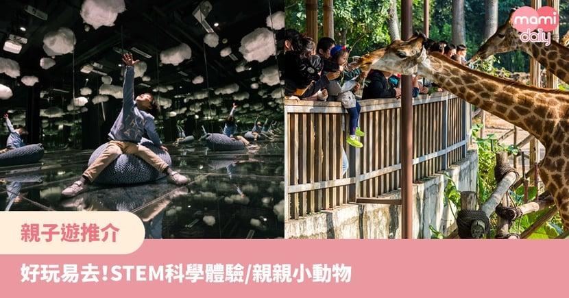 親子即日深圳遊推介!STEM科學體驗/親親野生動物