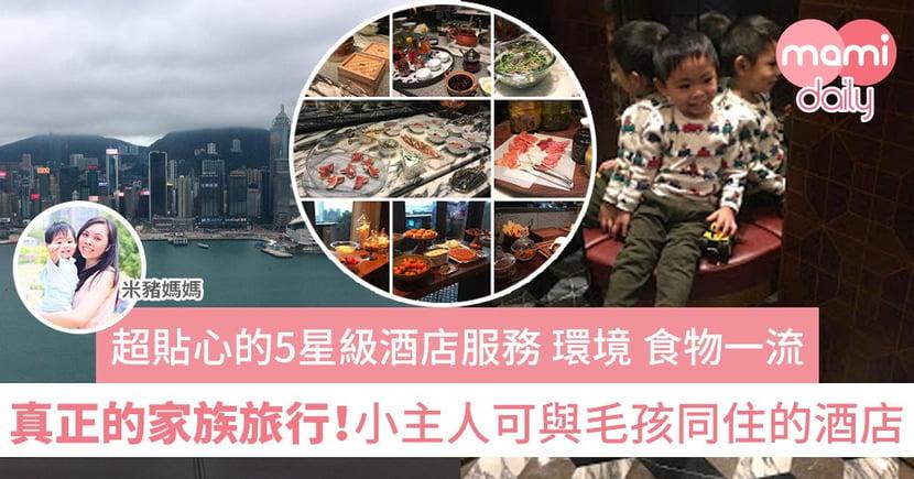 【家族旅行】香港本地小旅行 更可帶著寵物入住 共享家庭樂
