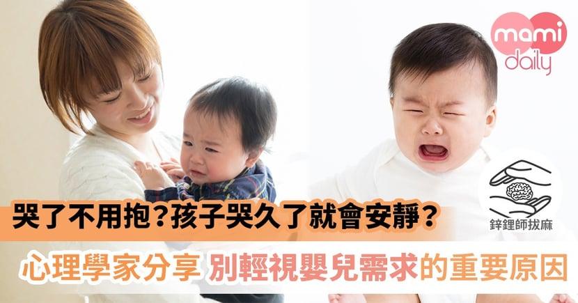 盡可能的擁抱、安撫嬰兒有多重要?從一則殘忍的兇殺案說起|鋅鋰師拔麻
